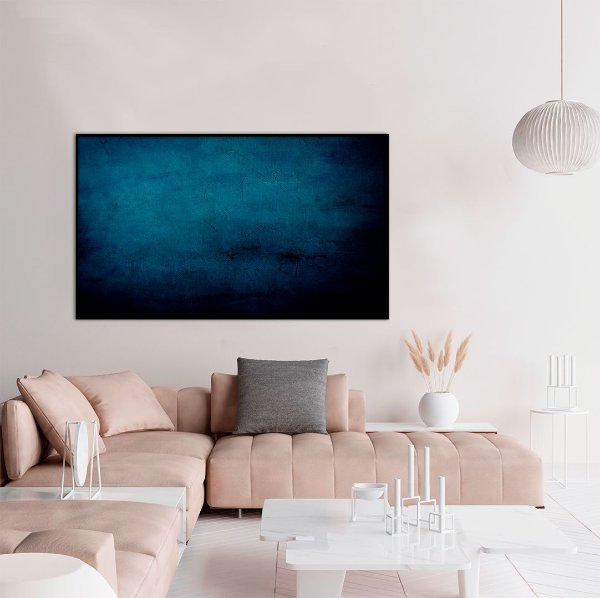 Quadro decorativo Abstrato Azul Clássico