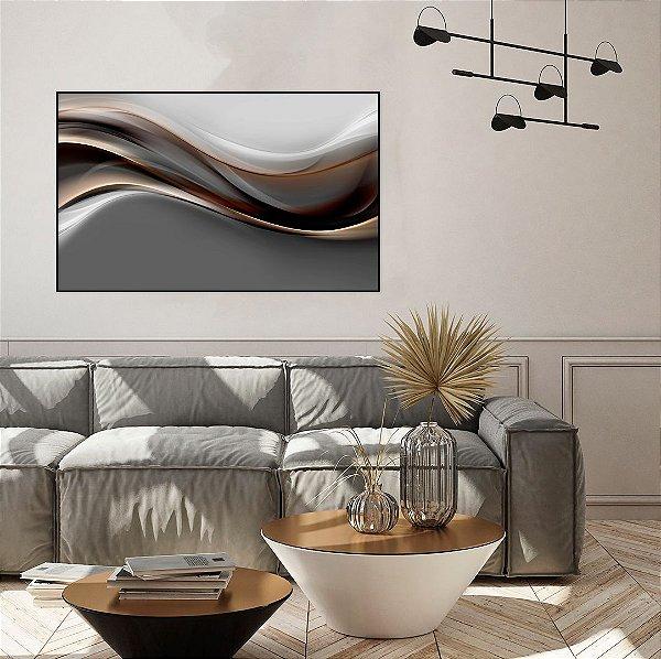 Quadro decorativo Abstrato Forma Abstrata