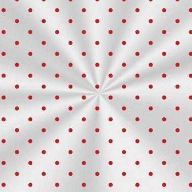 Saco Decorado Poá Vermelho - 15x22cm - 100 unidades - Cromus - Rizzo