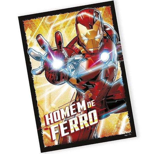 Painel Decorativo Festa Homem de Ferro - 01 unidade - Regina - Rizzo