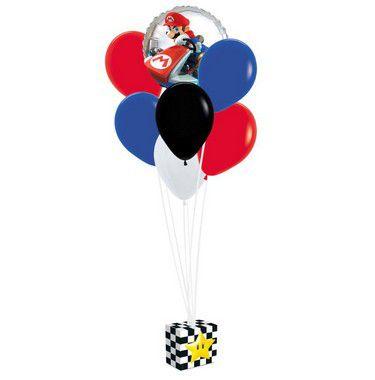 Kit Balões Festa Mario Kart - Cromus - Rizzo Festas