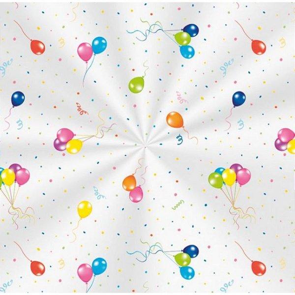 Saco Transparente Decorado Festa dos Balões - 10x14cm - 100 unidades - Cromus - Rizzo