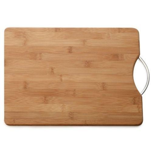 Tabua de Corte de Bambu com Alça 26X36 cm 1un. Rizzo