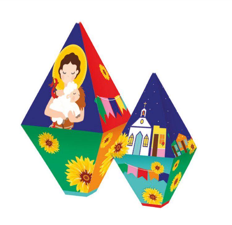 Balão Decorativo Composê Festa Junina 4 un. Cromus Rizzo