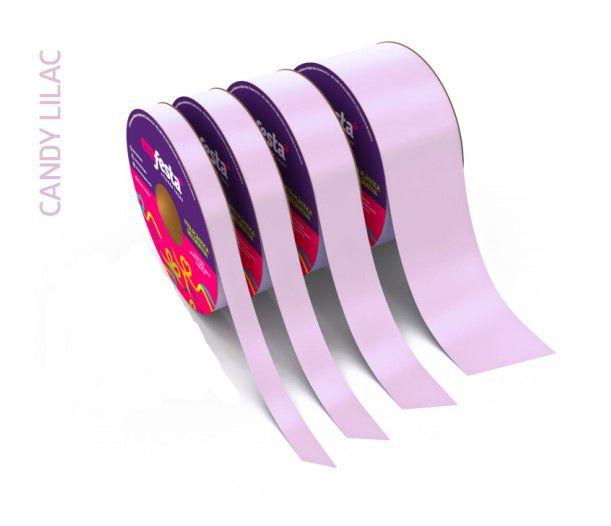 Rolo Fita Lisa Candy Lilás - 20mm x 50m - EmFesta