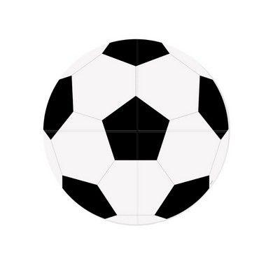 Painel Redondo 4 Lâminas - Festa Futebol - 01 unidade - Cromus - Rizzo