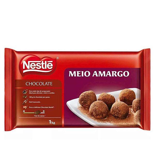 Chocolate Meio Amargo 1 kg - 01 unidade - Nestlé - Rizzo Confeitaria