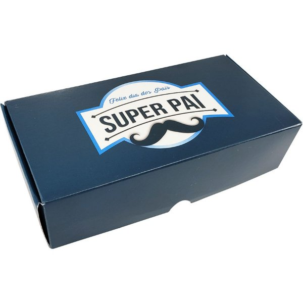 Caixa Practice (8 doces) Super Pai Dia dos Pais C1741 - Ideia - 10 Uni - Rizzo