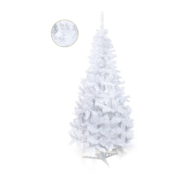 Árvore de Natal Portobelo Branca 1,80m - 01 unidade - Cromus Natal - Rizzo Confeitaria