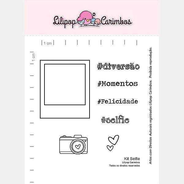 Carimbo Selfie Cod 31000024 - 01 Unidade - Lilipop Carimbos - Rizzo