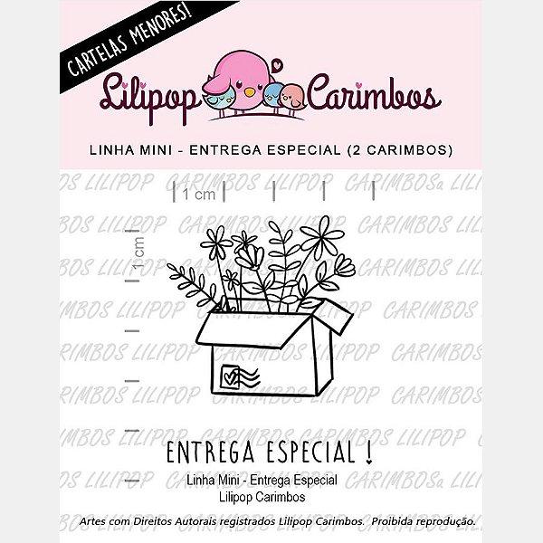 Carimbo Mini Entrega Especial - Cod 31000019 - 01 Unidade - Lilipop Carimbos - Rizzo