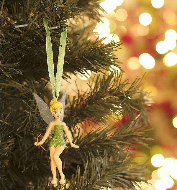 Enfeite para Pendurar Princesa Tinkerbell 10cm - 01 unidade - Natal Disney - Cromus - Rizzo
