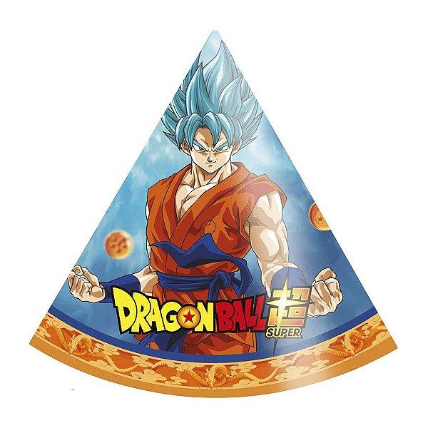 Chapéu Festa Dragon Ball Super - 8 peças - 1 Unidades - Festcolor - Rizzo