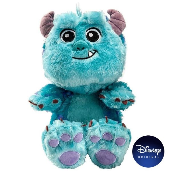 Pelúcia Disney Sulley Big Feet 30cm Monstros S.A - Disney Original - 1 Un - Rizzo