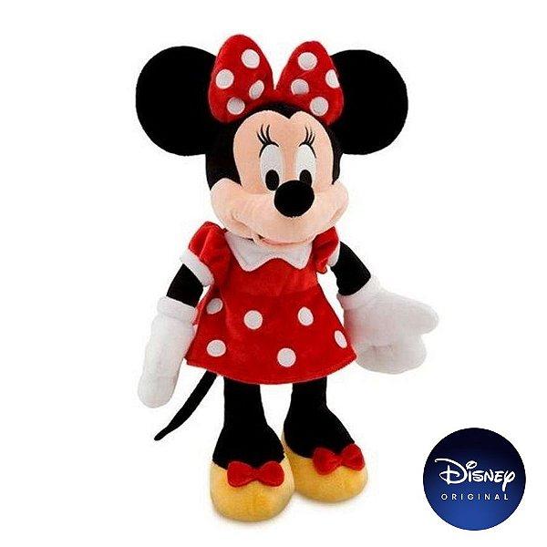 Pelúcia Minnie com Som Disney - Disney Original - 1 Un - Rizzo