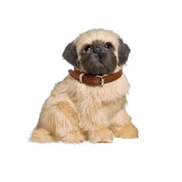 Enfeite Decorativo Pelúcia Cachorro Pug - Bege - 01 unidade - Cromus - Rizzo