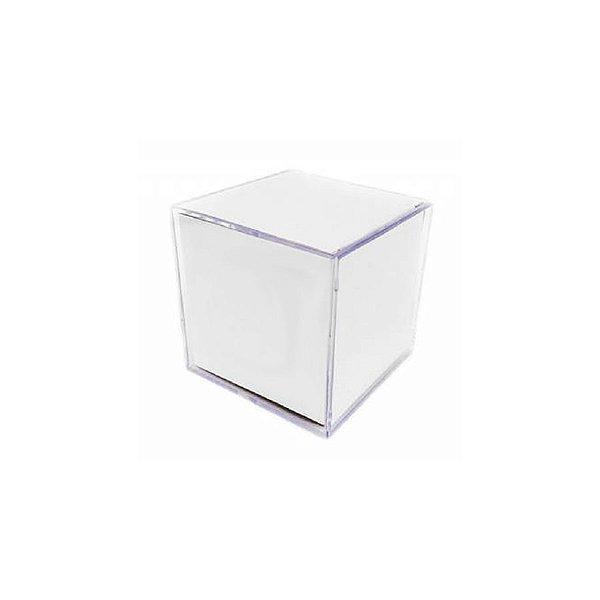Foto Cubo Mini Acrílico 6,5cm x6,5cm x6,5cm - 01 unidade - Rizzo