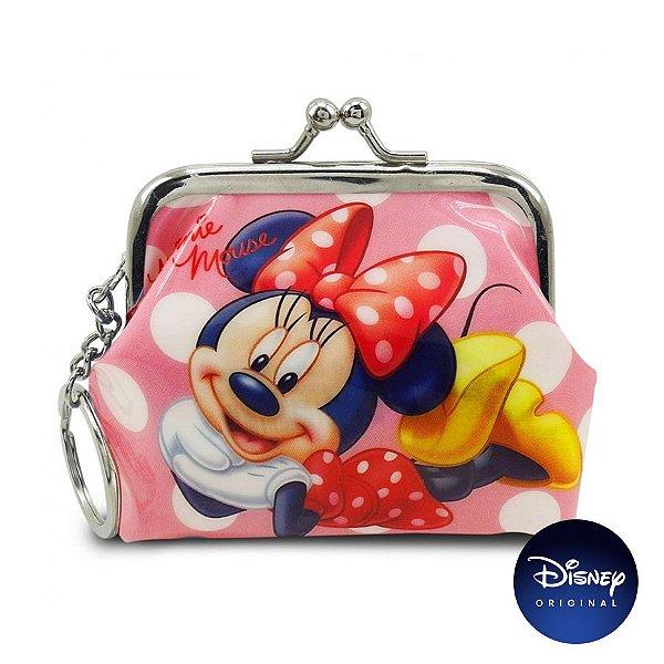 Porta Moedas Rosa Minnie Mouse - Disney Original - 1 Un - Rizzo