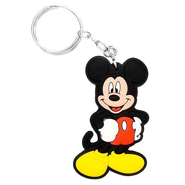 Chaveiro Mickey Temático Emborrachado - 01 unidade - Rizzo
