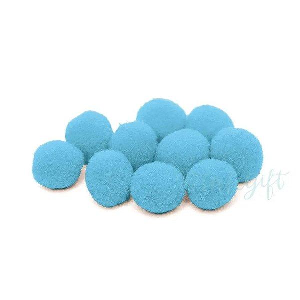 Pompom Decorativo Azul - 100 Un - Artegift - Rizzo