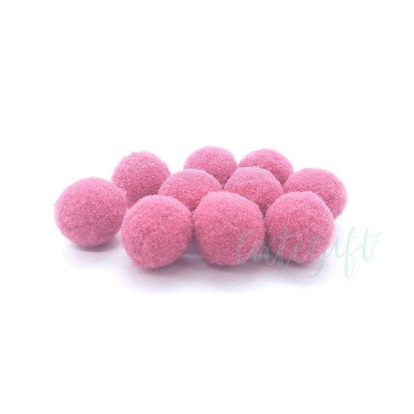 Pompom Decorativo Rosa Antigo - 100 Un - Artegift - Rizzo
