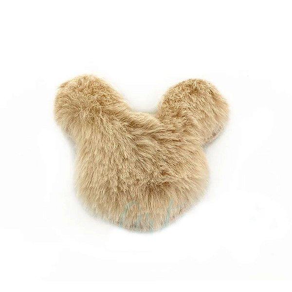 Aplique Urso Pelo Off White Decorativo - 2 Un - Artegift - Rizzo
