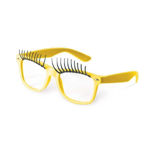Óculos Preto com Círios Amarelo Festa Carnaval 01 Unidade Cromus Rizzo