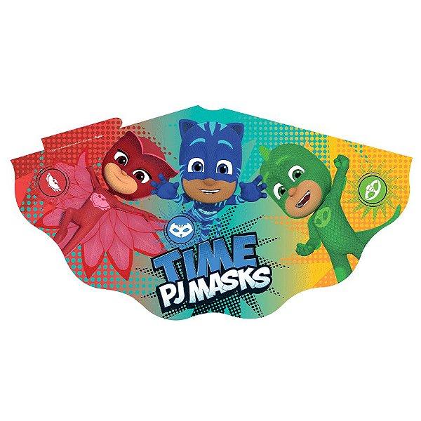 Chapéu Festa PJ Masks 2 - 12 unidades - Regina - Rizzo