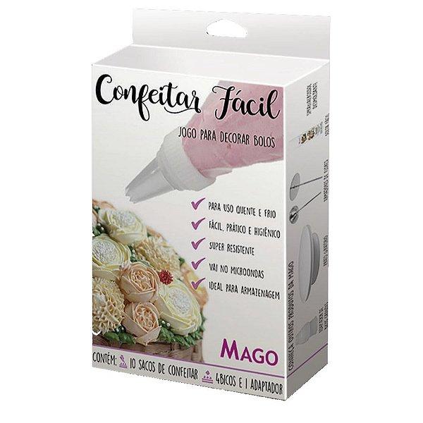 Kit Confeitar Fácil com 15 itens Mago Rizzo Confeitaria