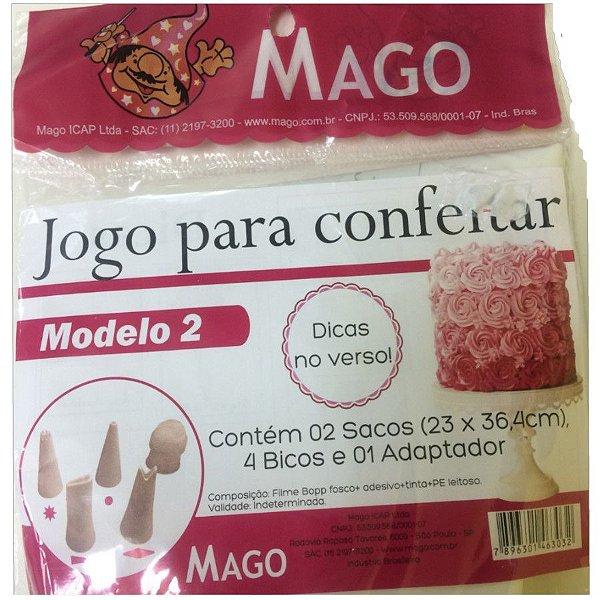 Kit de Confeitar Mod  2 com 7 itens Mago Rizzo Confeitaria