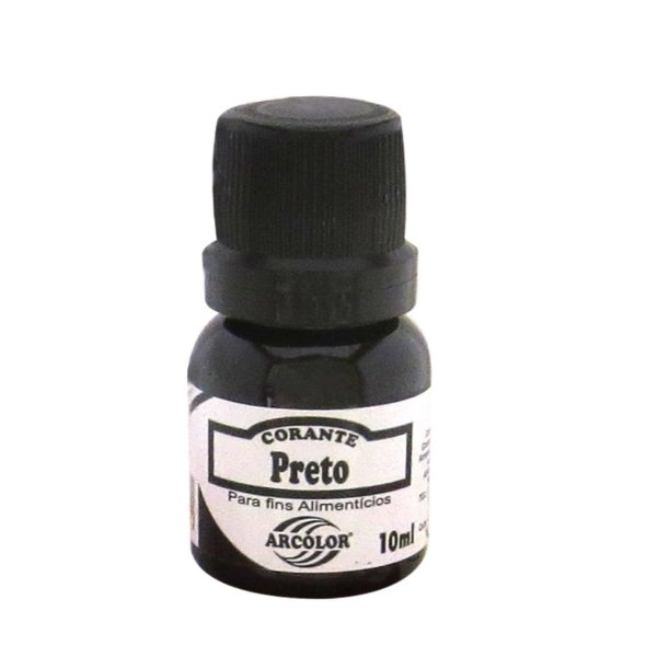 Corante Liquido Preto 10ml Arcolor