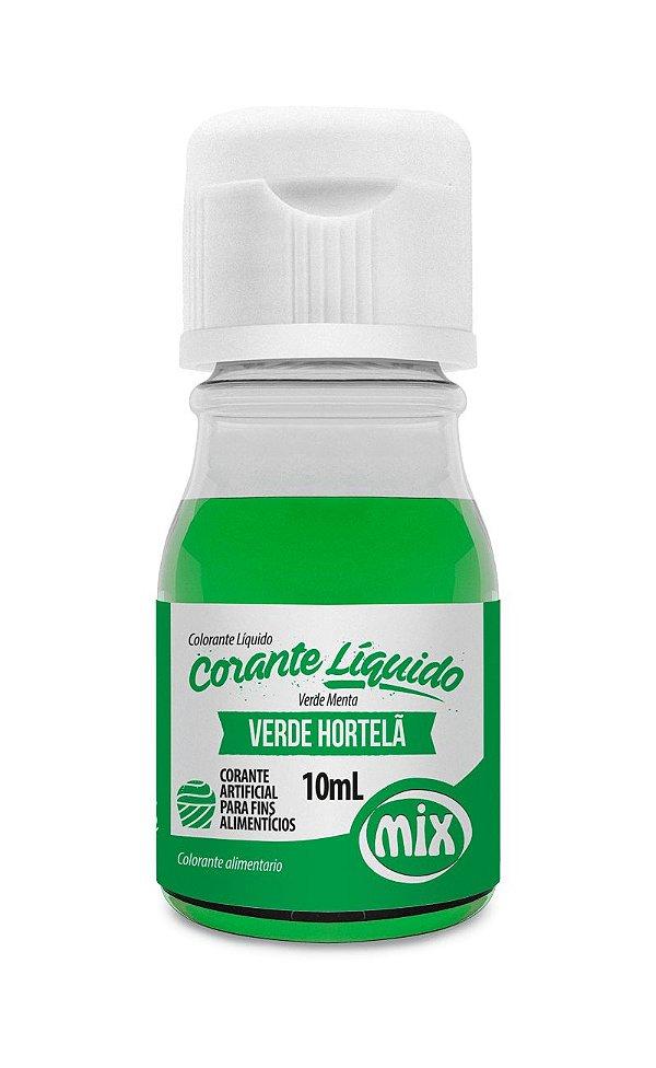 Corante liquido verde hortela 10ml Mix Rizzo Confeitaria