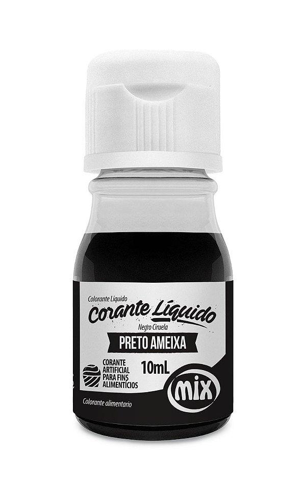 Corante Liquido Preto Ameixa 10ml Mix