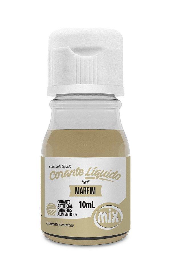 Corante liquido marfim 10ml Mix Rizzo Confeitaria