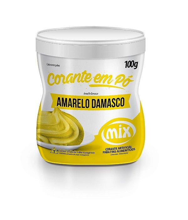 Corante em pó amarelo damasco 100g Mix Rizzo Confeitaria