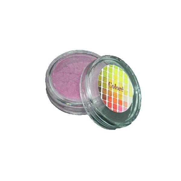 Pó para decoração, Brilho para superficie Colorê Berry Kiss 2g LullyCandy Rizzo Confeitaria