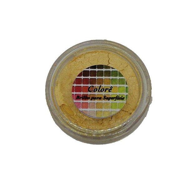 Pó para decoração, brilho para superficie colorê joy 1,9g LullyCandy Rizzo Confeitaria