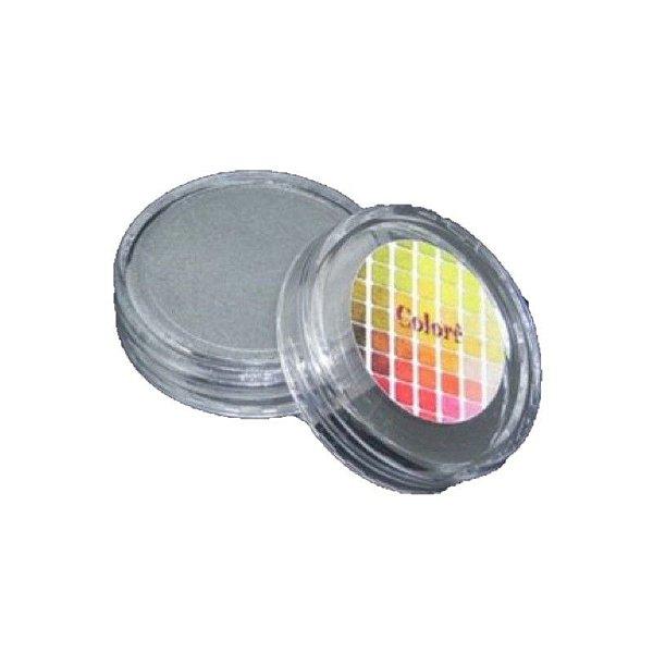 Pó para decoração, Brilho para Superficie Colorê Prata 2g LullyCandy Rizzo Confeitaria