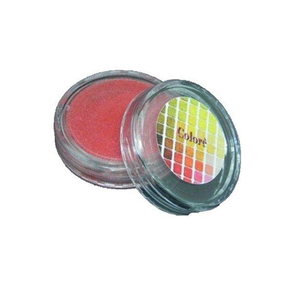 Pó para decoração, Brilho para superficie Colorê Tomate 2g LullyCandy Rizzo Confeitaria