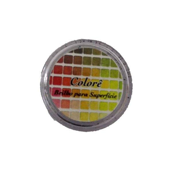 Pó para Decoração, Brilho para Superfície Colorê Preto 1,5g LullyCandy Rizzo Confeitaria