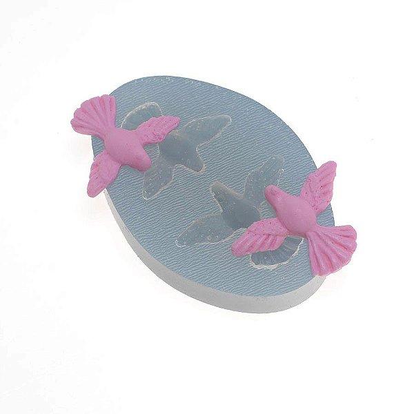 Molde de silicone Pombos pequenos Ref. 356 Flexarte Rizzo Confeitaria