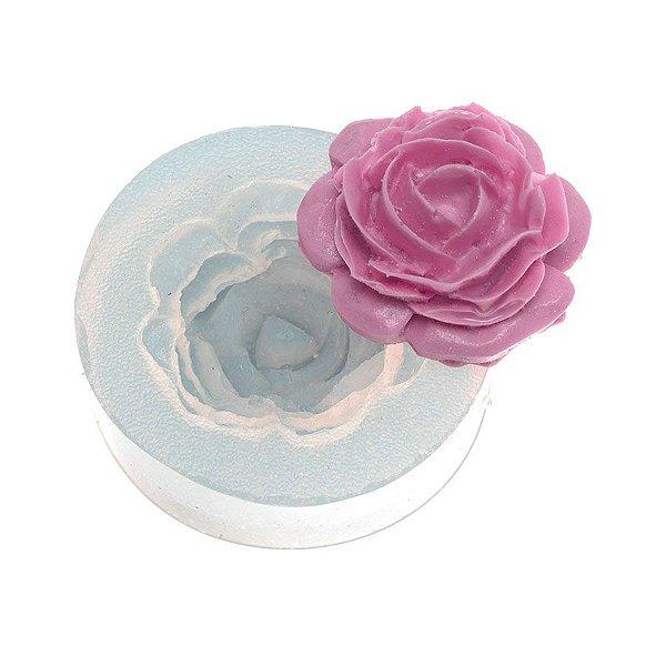 Molde de silicone Rosa Kirsten Ref. 256 Flexarte Rizzo Confeitaria