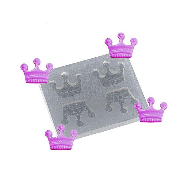 Molde de silicone Coroinhas Ref. 91 Flexarte Rizzo Confeitaria