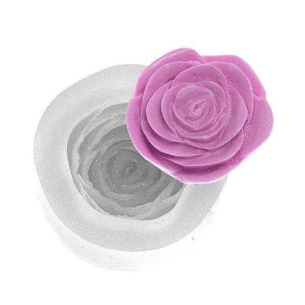 Molde de silicone Rosa Scarlett Ref. 257 Flexarte Rizzo Confeitaria