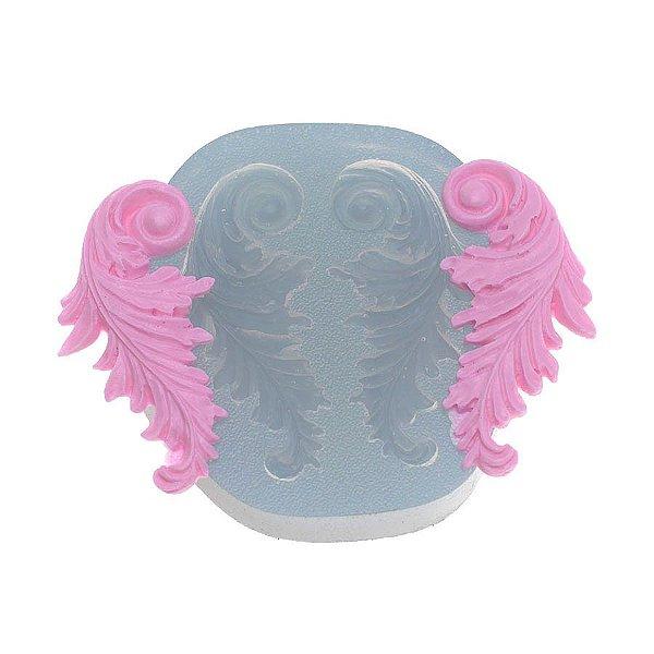 Molde de silicone Arabesco Espelhado Ref. 309 Flexarte Rizzo Confeitaria