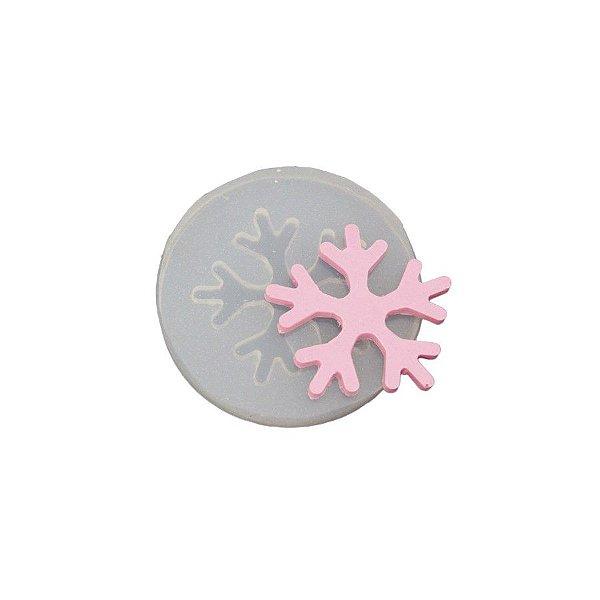 Molde de silicone Floco de Neve Ref. 97 Flexarte Rizzo Confeitaria
