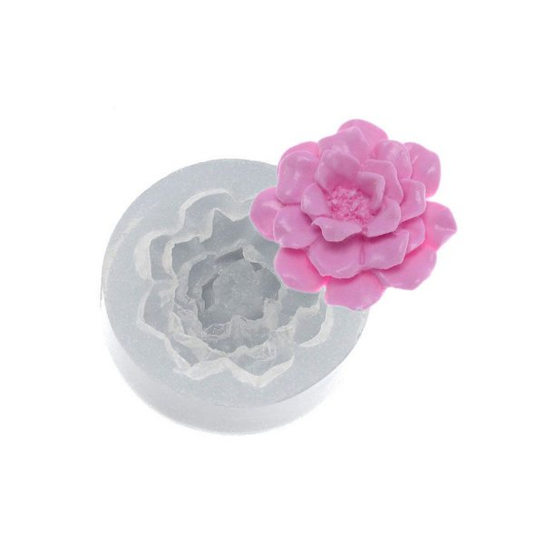 Molde de silicone Flor Christy Ref. 472 Flexarte Rizzo Confeitaria