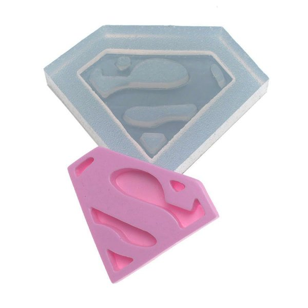 Molde de silicone Letra S (super) ]Ref. 345 Flexarte Rizzo Confeitaria