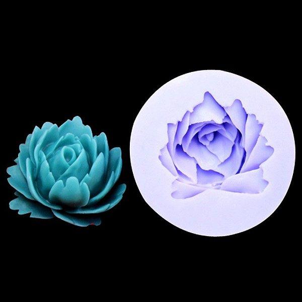 Molde de silicone Flores S55 Molds Planet Rizzo Confeitaria
