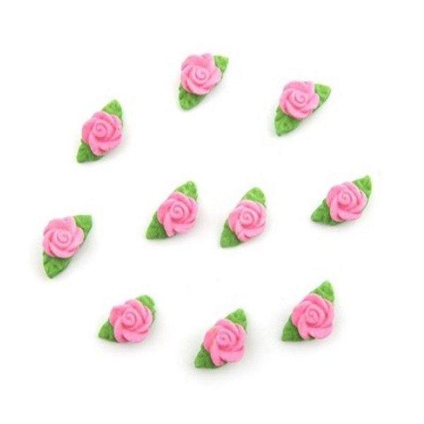 Confeitos comestíveis Rosa R20 Rosa Ref. 77 Jeni Joni Rizzo Confeitaria